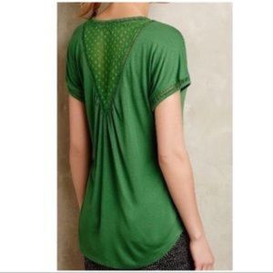Anthro Meadow Rue v-neck top large